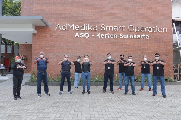 Perkuat Operational Excellence, AdMedika Soft Launching ASO (AdMedika Smart Operation) – Solo.